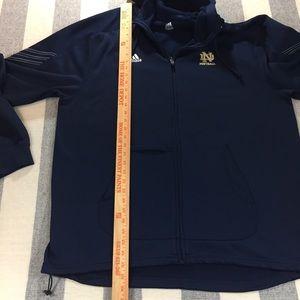 adidas Jackets & Coats - Adidas climawarm Notre Dame Football Sweatshirt